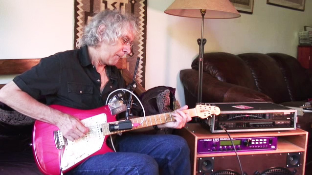 COUNTRY BOY:  Albert Lee is one of Hogan's Heroes, and a hero to many for his pioneering fusion of flat and hybrid picking.