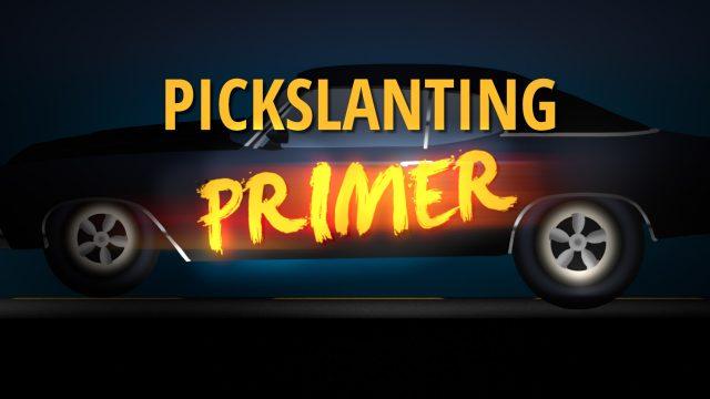 Pickslanting Primer Logo