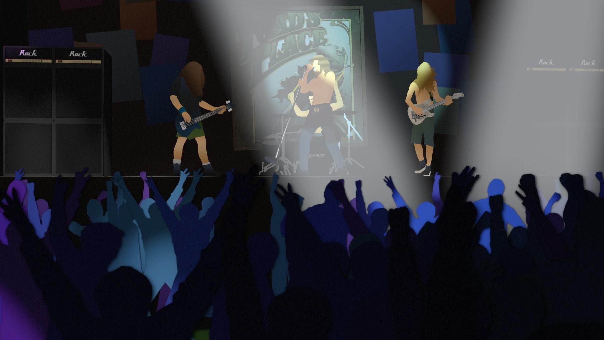 Behind the Scenes: Rock Concert Regenesis
