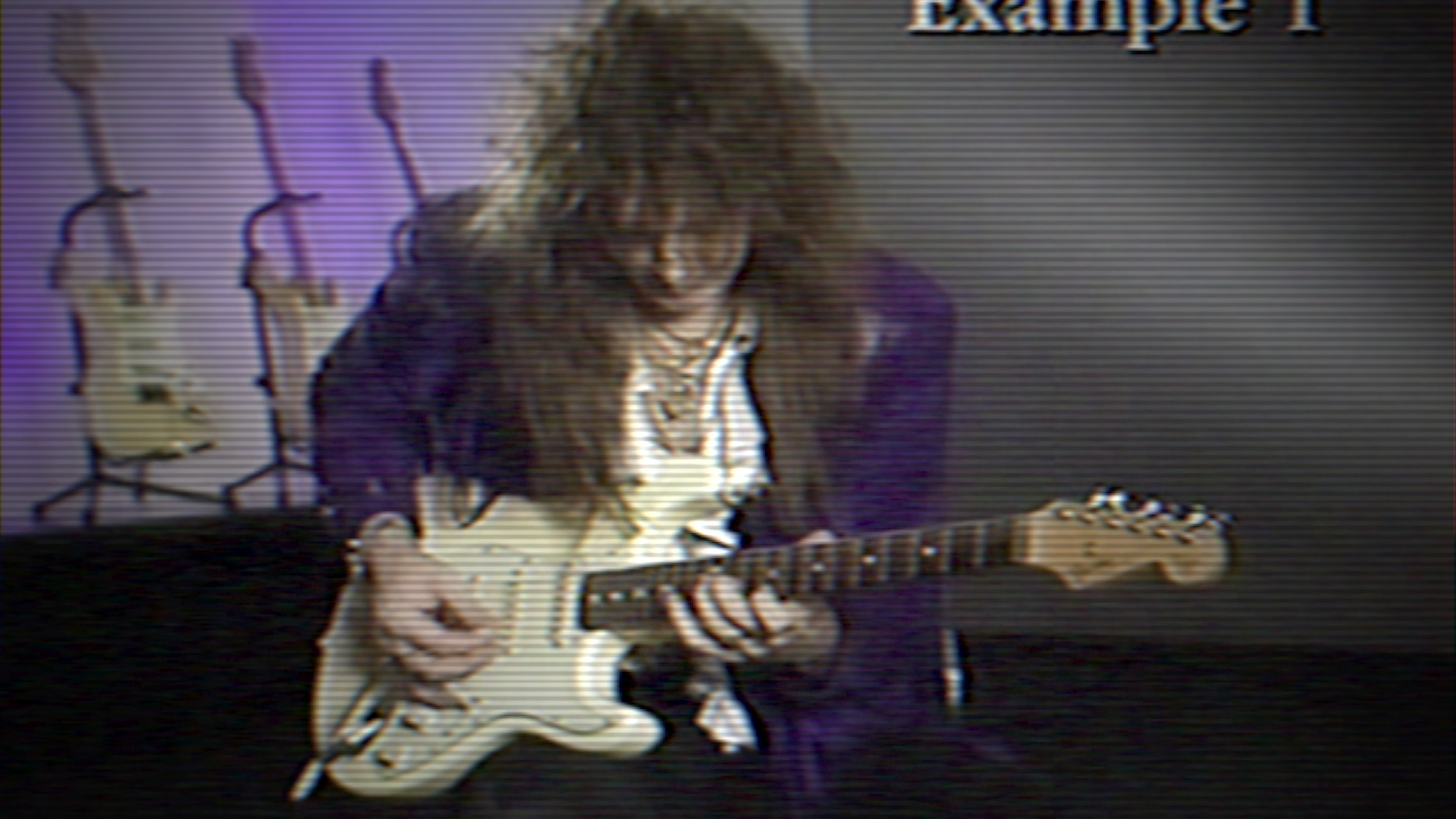 THE UN-ORTHODOX:  The counterintuitive genius of Yngwie's one-way pickslanting approach.