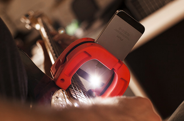LIGHTS, CAMERA, ACTION: With the iPhone's built in light, you can capture slow-mo footage anytime day or night.