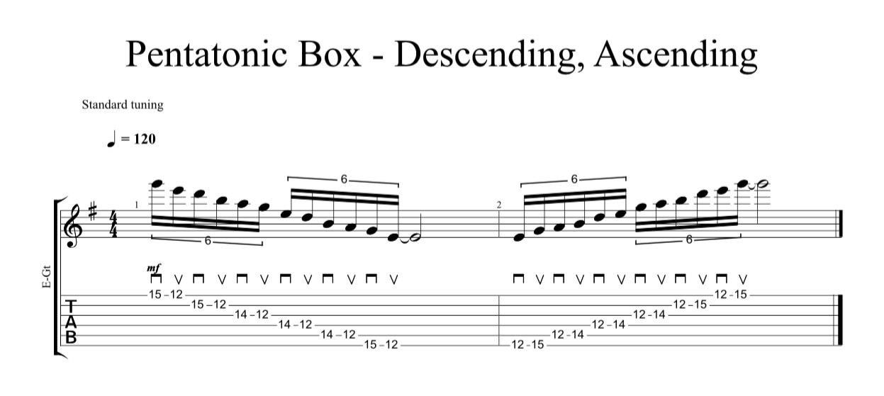 pentatonic box desc asc crop