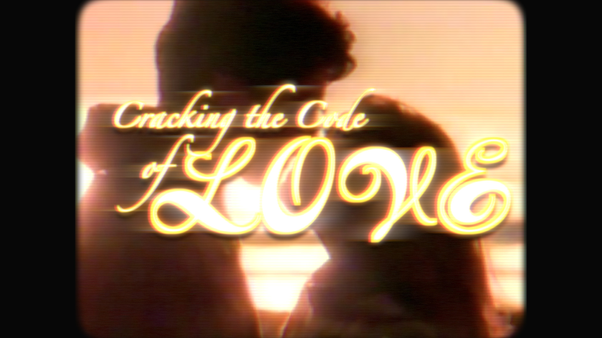 poster - code of love - tv - black bg